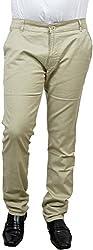 Raj Creation Men's Trouser (Raj Creation-1_Cream_30)