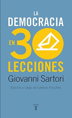La democracia en treinta lecciones (HISTORIA)