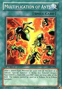 Yu-Gi-Oh! - Multiplication of Ants (IOC-098) - Invasion of Chaos - Unlimited Edition - Common (Ants Canada compare prices)
