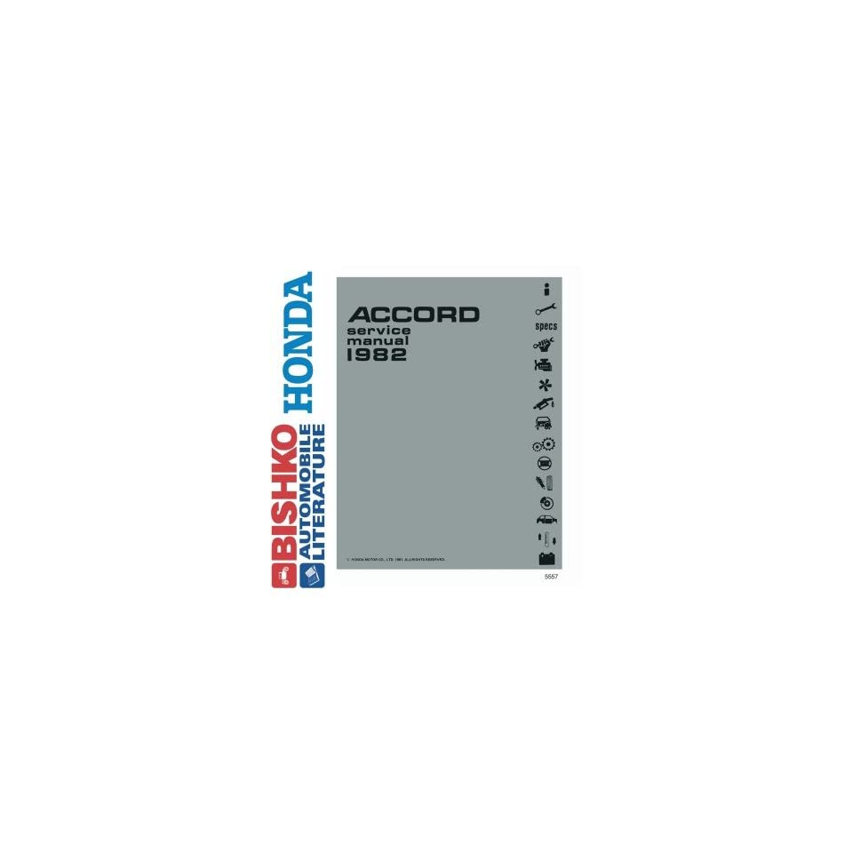 1982 Honda Accord Shop Service Repair Manual CD Engine Drivetrain Wiring OEM