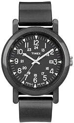 Timex Premium Originals Camper Black Unisex Watch T2N872