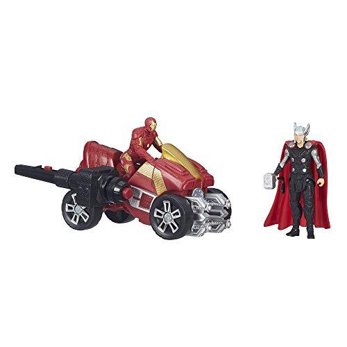 HASBRO Marvel Avengers Miniverse Deluxe Thor+Iron Man B0448-B1501