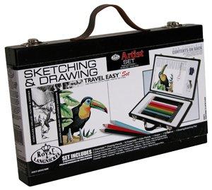 Royal-Travel-Easy-Wood-Box-Sketching-Drawing-Artist-Set
