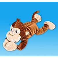 Plush Sling Shot Monkey With Sound, Case Of 12