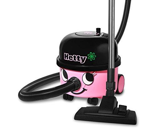 Numatic-900145HDK205-12-Boden-Staubsauger-Hetty-mit-zustzlicher-Hartboden-Dse-und-5-Hepa-Flo-Vliesstaubbeuteln-classic-pink