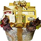 SCHEDULE YOUR DELIVERY DAY! Old World Charm Gourmet Food and Snacks Gift Basket - Medium