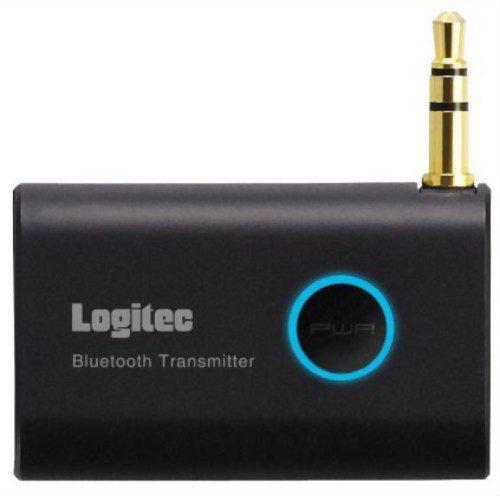 Logitec Bluetooth2.1オーディオトランスミッター USB-AC充電器付属モデル ブラック LBT-AT100C2