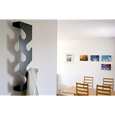 Black Wave Coat Rack