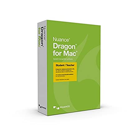 Dragon for MAC 5.0, Student/Teacher Edition