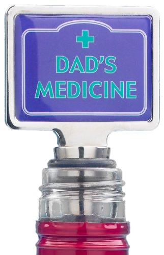 Boxer Gifts Dad's Medicine Novelty Wine Bottle