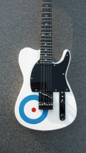 Rgm60 Pete Townshend Who Target Miniature Guitar Rock Guitar Miniatures Mini Guitar Roger Daltrey Pete Townshend John Entwistle Keith Doon I Can'T Explain My Generation I Can See For Miles
