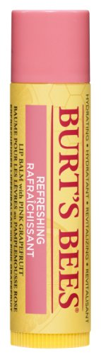 Burt's Bees 100% Natural Lip Balm, Pink Grapefruit, 4.25g
