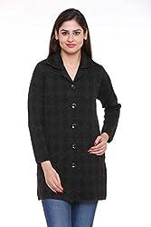 American Eye Women's Coat 1613-110 BLACK