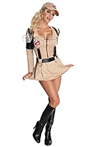 Sexy Ghostbusters Ladies Halloween Fancy Dress 1980s Costume Outfit Medium UK 12-14