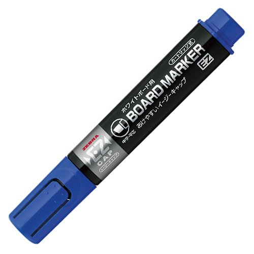 Zebra YYSM17 5.0mm Medium Chisel Tip Board Marker - Blue