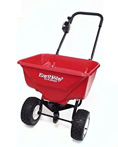 Earthway 2030PPlus Deluxe Lawn and Garden Spreader with 9-Inch Pneumatic Wheels