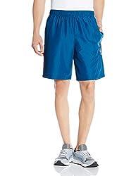 Reebok Men's Synthetic Shorts (4056563917329_AF2146_X-Large_Blue)