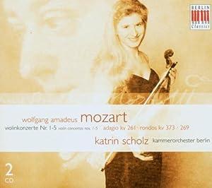 Mozart:Violinkonzerte 1-5