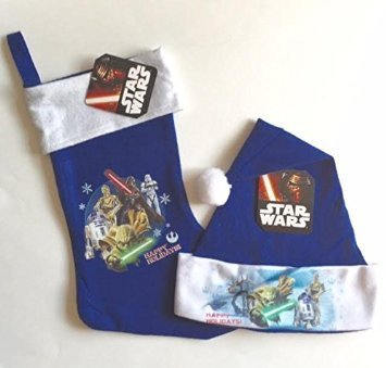Star Wars Stocking And Hat (Blue)