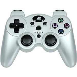 Dreamgear Dgps3-1386 Playstation 3 Radium Wireless Controller (Metallic Silver) - Video Game Accessories