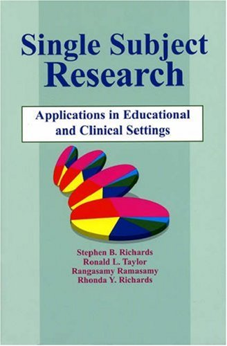 Single-Subject Research: Application in Educational and...