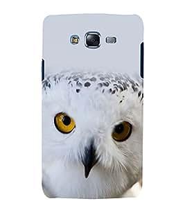 printtech Nature Bird Owl Back Case Cover for Samsung Galaxy E5 / Samsung Galaxy E5 E500F
