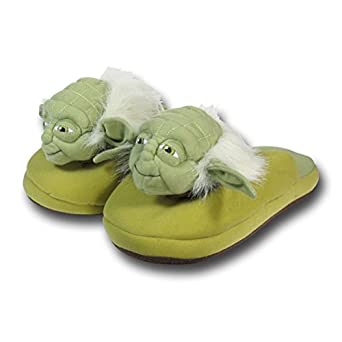 Star Wars Yoda Slippers - 7/8 Small Size
