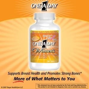 One A Day Vitamins For Menopause