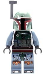 LEGO Kids' 9003530 Star Wars BOBA FETT Figurine Alarm Clock