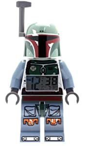 LEGO Kids' 9003530 Star Wars BOBA FETT Figurine Alarm Clock