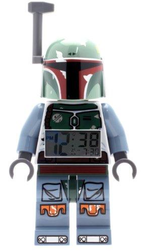 LEGO Kids' 9003530 Star Wars BOBA FETT Minifigure Alarm Clock