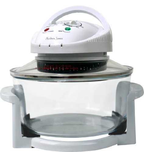 Andrew James 12 LTR Premium Halogen Oven Cooker