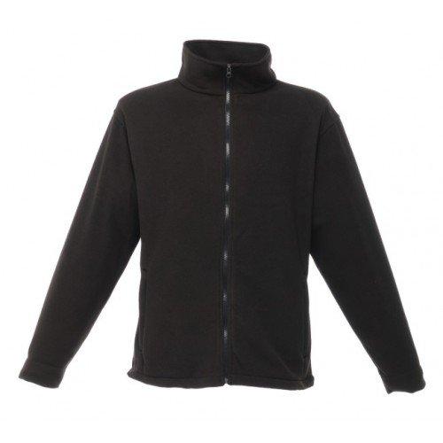 Regatta RG130 Men's Barricade Anti Pill Symmetry Fleece Jacket, XXX-Large, Black