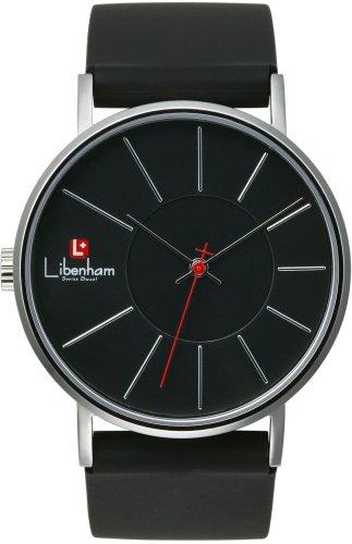 [リベンハム]Libenham 腕時計 ミディアムサイズ ラバー LH90032-01 Night-Black(夜の暗闇) メンズ 【正規輸入品】