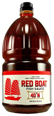 Red boat fish sauce 40n bulk bottle for restaurants 68 for Red fish sauce