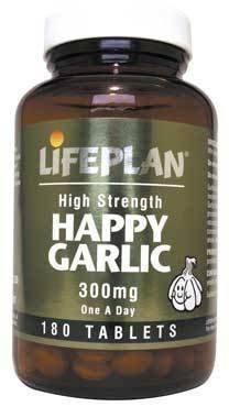 Lifeplan High Strength Happy Garlic 300mg 180 Tablets