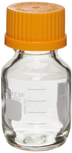 Corning Pyrex Round Media Storage Bottle With G L45 Screw Cap, 5 L (Corning 5l compare prices)