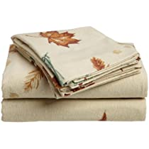 Divatex 100-Percent Cotton Flannel Sheet Set