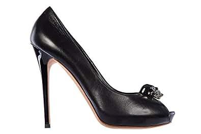 Amazon.com: Alexander Mcqueen decollettes decoltè scarpe women's heel