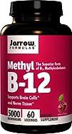 Jarrow Formulas Methylcobalamin Methyl B12 Supports Brain
