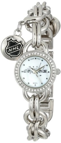"""Game Time Women'S Nhl-Chm-Was """"Charm"""" Watch - Washington Capitals front-617742"""