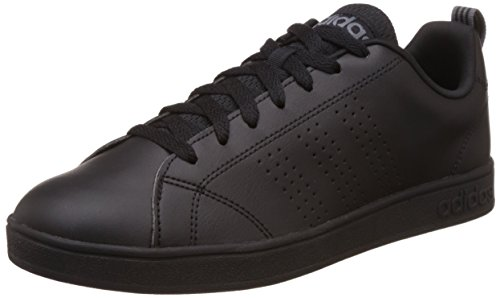 Adidas neo - Advantage Clean VS, Scarpe da ginnastica Uomo, Black (Negbas / Negbas / Lead), 41 1/3 EU