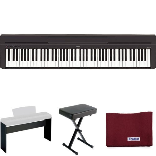 yamaha-p45-digital-piano-holiday-home-bundle-with-furniture-stand-bench-and-dust-cover