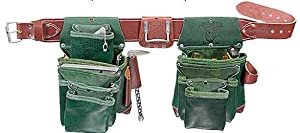 Occidental Leather 5605L Green Lights Leather 6 Bag Set (L)
