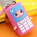 家電限定QP★携帯電話キューピー携帯ストラップ