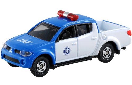 TAKARA TOMY Tomica Diecast BX093-Mitsubishi Triton JAF Service Diecast Toy Car - 1