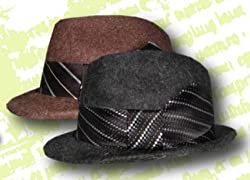 "CHRISTYS CROWN SERIES ""SUNNY"" RABBIT FUR & WOOL FELT FEDORA TRILBY PREMIUM HAT"