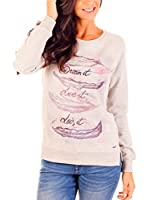 Lois Sudadera Dream It (Gris)