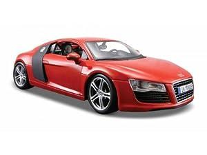Maisto - Modèle réduit - Audi R8 - Echelle 1/24 : Blanc