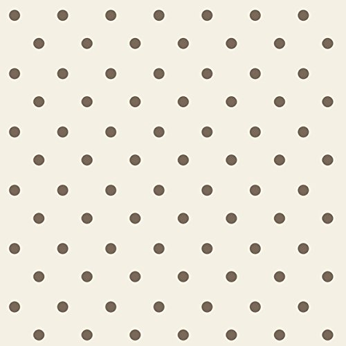Springs Creative Nursery Rhyme Dot Beige 100-Percent Cotton Decorative Fabric Toile, 43/44-Inch/15-Yard front-74273